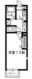 プリマ マテリア 八千代台[1階]の間取り