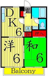[一戸建] 東京都葛飾区亀有1丁目 の賃貸【東京都 / 葛飾区】の間取り
