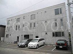 北海道札幌市北区北三十二条西10丁目の賃貸マンションの外観