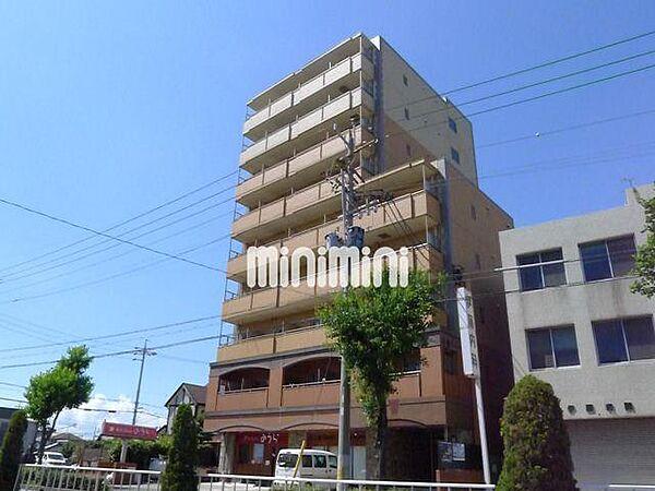 愛知県名古屋市港区小賀須1丁目の賃貸マンションの外観