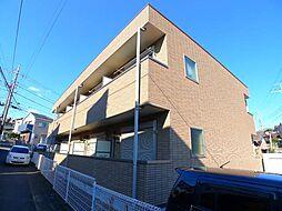 千葉県松戸市六実4の賃貸アパートの外観