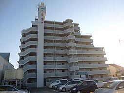 愛媛県松山市針田町の賃貸マンションの外観