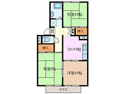 メゾン陣屋[2階]の間取り