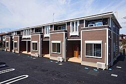 群馬県伊勢崎市境新栄の賃貸アパートの外観