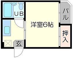 ローレルハイツ富士富[3階]の間取り