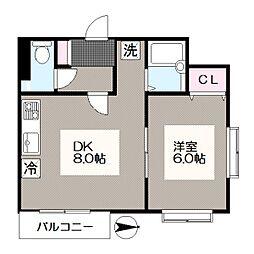 一之江駅 7.6万円