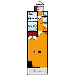 プレール・ドゥーク豊洲II[7階]の間取り