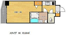 ファステート神戸アモーレ[9階]の間取り