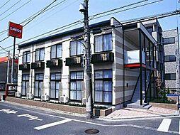 東京都江戸川区東小松川4丁目の賃貸アパートの外観