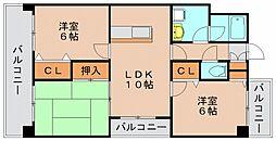 YGM新橋21[7階]の間取り