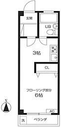 第11通南ビル[3階]の間取り