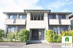香川県高松市十川西町の賃貸アパートの外観