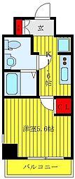 JR山手線 大塚駅 徒歩7分の賃貸マンション 9階1Kの間取り