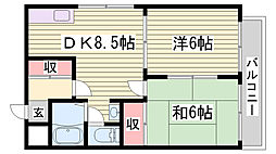 月見山駅 6.6万円