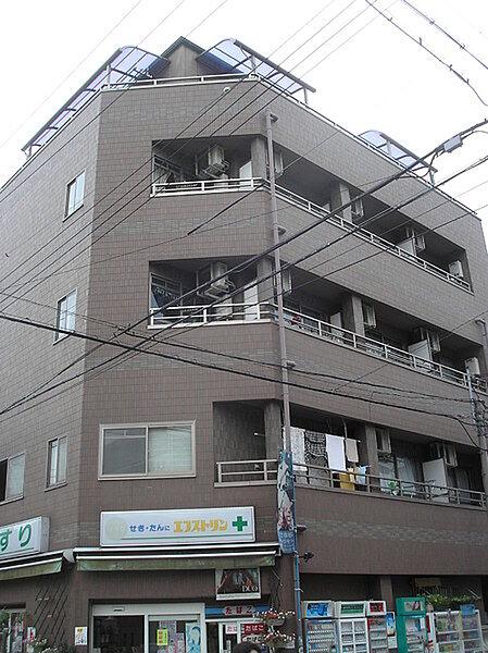 ヒカリマンション[3階]の外観