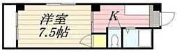 合川コーポ[105号室]の間取り