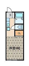 泉ハイツ[1階]の間取り