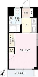 参宮橋関口マンション[4階]の間取り