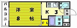 FITサイドビル[3階]の間取り