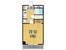 エスタシオン甲子園口[1階]の間取り