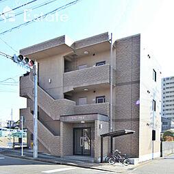 愛知県名古屋市緑区鳴海町字杜若の賃貸マンションの外観