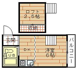ロフティ野田[3階]の間取り