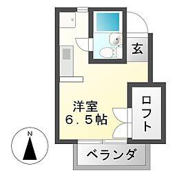 TOGETHER21A棟[2階]の間取り