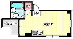 グランドシャトータカオ駒川[5階]の間取り