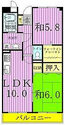ロイヤルガーデン(柳沢)[1階]の間取り
