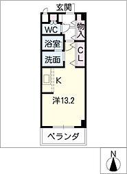 Lieto Noda[5階]の間取り