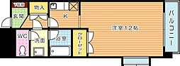 クレベール皇后崎[3階]の間取り