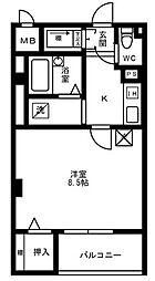 細田マンション[1階]の間取り