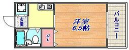 ヴィラ細田[3階号室]の間取り