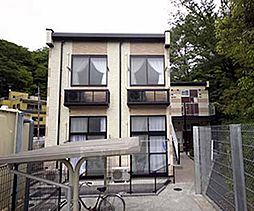 京都府京都市左京区北白川仕伏町の賃貸アパートの外観