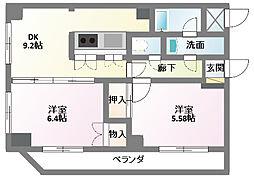 オークウッド・II[2階]の間取り