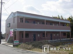 愛知県豊田市堤本町住吉の賃貸アパートの外観