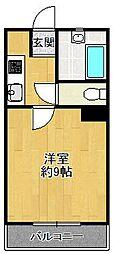 シエテアビタシオン[2階]の間取り