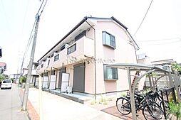 神奈川県大和市深見の賃貸アパートの外観