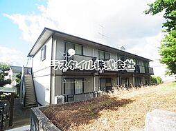 東京都町田市広袴2丁目の賃貸アパートの外観