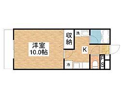 LUZ62[2階]の間取り