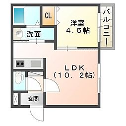 仮)厚別中央1条3丁目MS[4階]の間取り