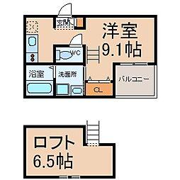 レジデンシアコート (レジデンシアコート)[1階]の間取り