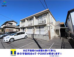 前田ハイツ CATV[1階]の外観