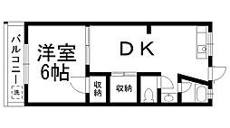 第2田村マンション[0306号室]の間取り