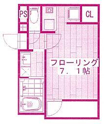 shiba-san宿河原[1階]の間取り