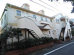 東京都世田谷区赤堤1丁目の賃貸アパートの外観