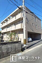 愛知県みよし市三好町赤羽根の賃貸アパートの外観