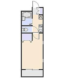 サニーハウス[303号室]の間取り
