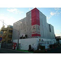 神奈川県川崎市幸区南加瀬5丁目の賃貸マンションの外観