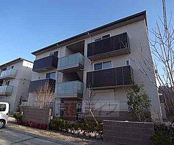 京都府京都市山科区東野八反畑町の賃貸アパートの外観